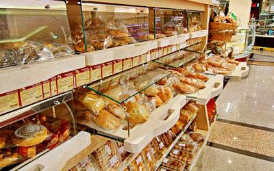 Торговое оборудование для хлеба и выпечки