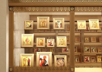 Церковная лавка для монастыря
