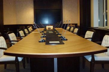 Конференц-стол из массива