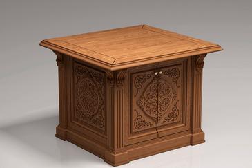 Мебель для храма из массива
