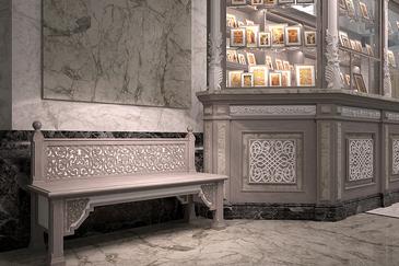 Скамейки для храма