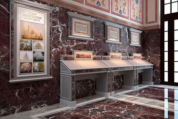 Дизайн мебели в притвор храма
