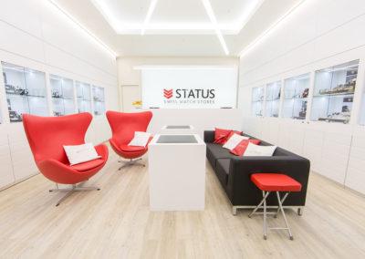 Магазин швейцарских часов «Status»