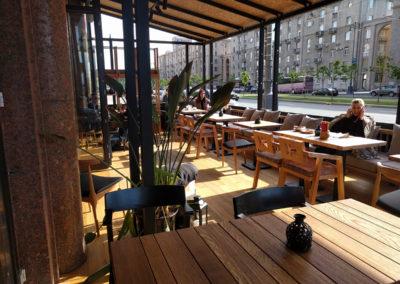 Летняя терраса для ресторана «Чеми»