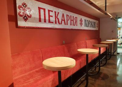 Мебель для пекарни «Коржов»