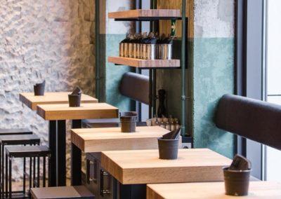 Мебель для бургерной «Забегаловка»