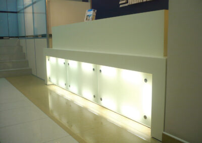 Производство мебели для банка МДМ БАНК
