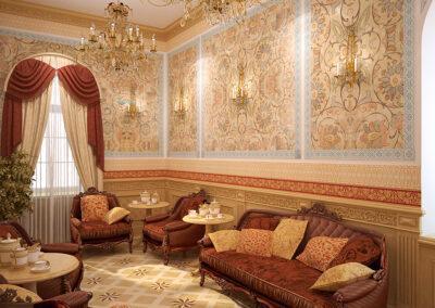 Дизайн чайной комнаты