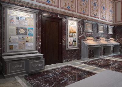 Дизайн мебели для храма