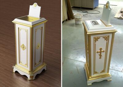 Изготовление мебели для церкви