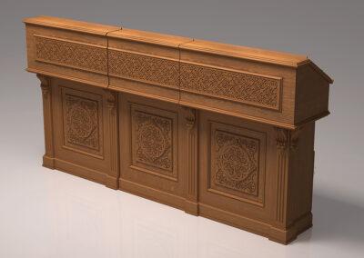 Изготовление мебели для храма