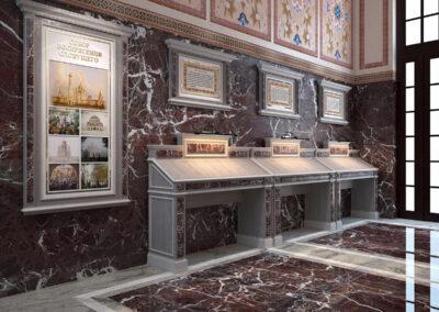 Мебель в притвор храма